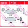 Fékbetét TRW Lucas MCB569SV /FDB481