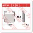 Fékbetét TRW Lucas MCB561 /FDB381 /P10737