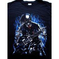 Skull gitáros póló S