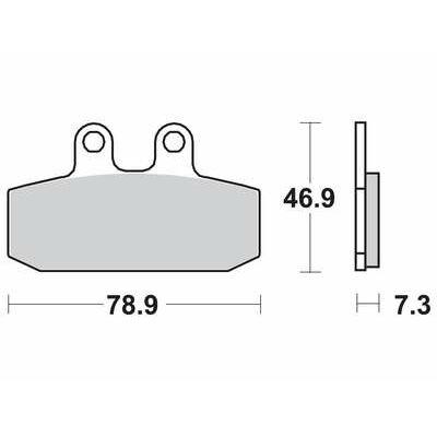 Fékbetét Ferodo FDB438EF