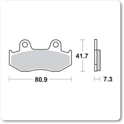 Fékbetét Brenta FT3034 /FDB382