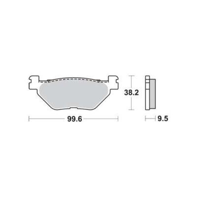 Fékbetét Brenta FT3139 /FDB2156