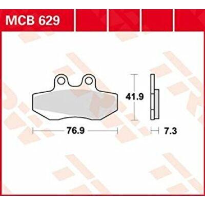 Fékbetét TRW Lucas MCB629