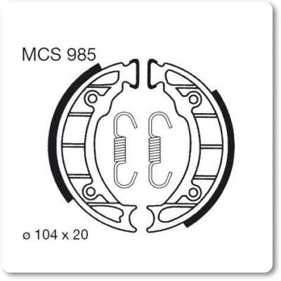Fékbetét TRW Lucas MCS985