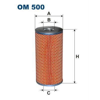 Filtron olajszűrő OM 500 Kamaz