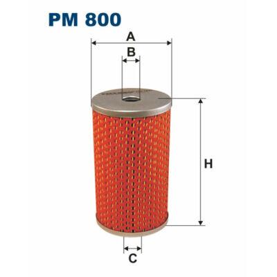 Filtron gázolaj szűrő PM800 Kamaz