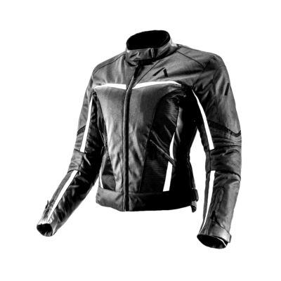 Adrenaline Love Ride fehér betéttel női motoros kabát L
