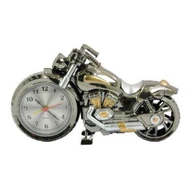 Ébresztős aztali motoros óra 7989a