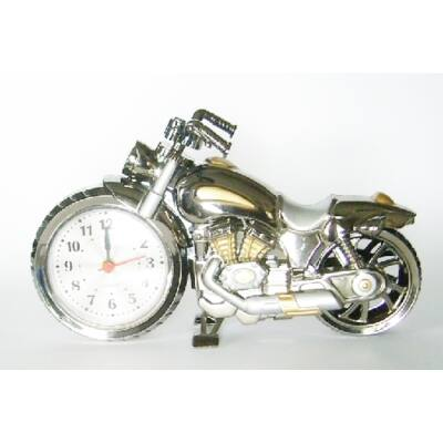 Ébresztős aztali motoros óra 7989b