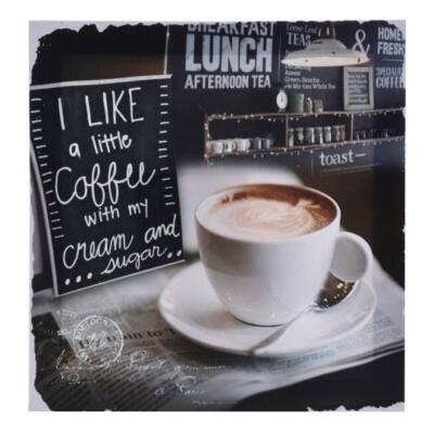Falikép kávés i like