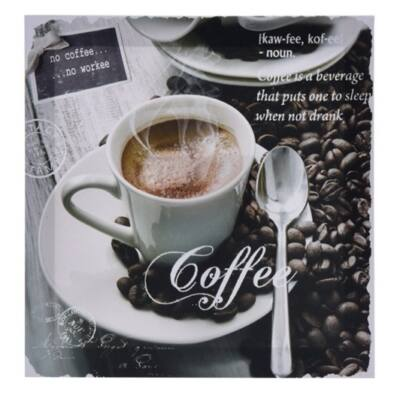 Falikép kávés kiskanállal