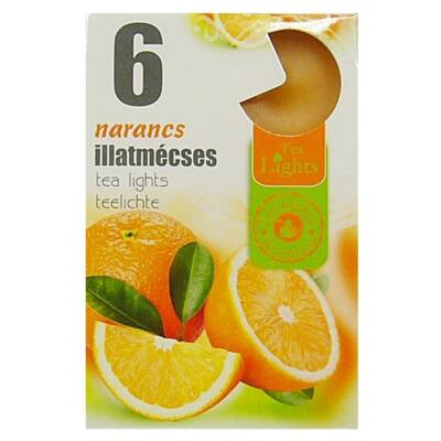 Illatmécses 6 db-os narancs