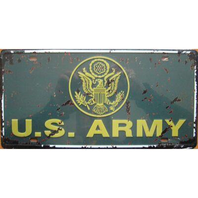 Retro fémtábla kép U.S.Army 3D dombornyomású
