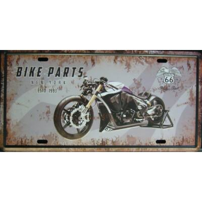 fémtábla 30x15 Bike parts