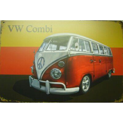Retro fémtábla 30x20 kép VW T2 Combi