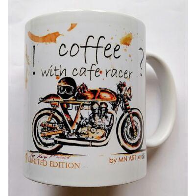 Bögre Egyedi Coffee racer