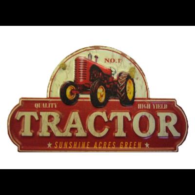 fémtábla 30x18 Tractor