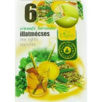 Illatmécses 6 db-os citromfű koriander