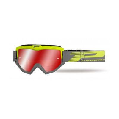 Szemüveg Progrip Fluo sárga/szürke 3201FL multi