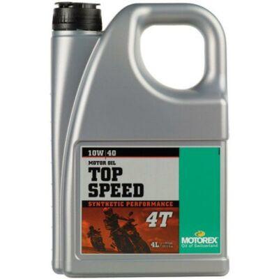 Motorex Top Speed 4T 10w40 4l motorolaj