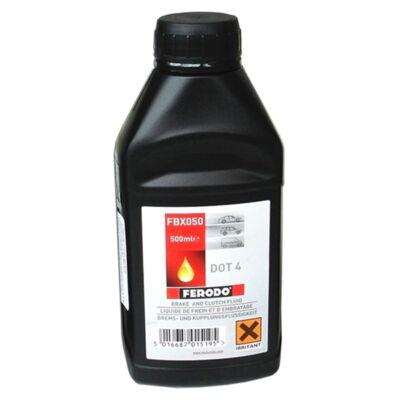 Fékolaj DOT4 Ferodo szintetikus 0,5 l