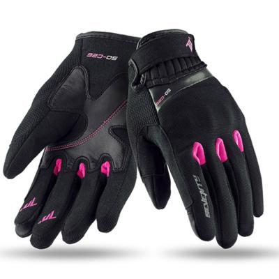 Seventy-70 Degrees SD-C26 női motoros kesztyű pink M