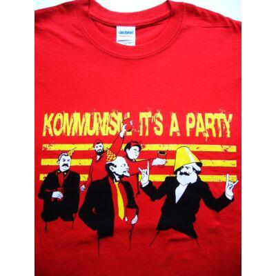 Póló Kommunista party L
