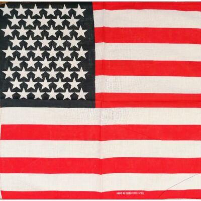 Kendő amerikai mintás