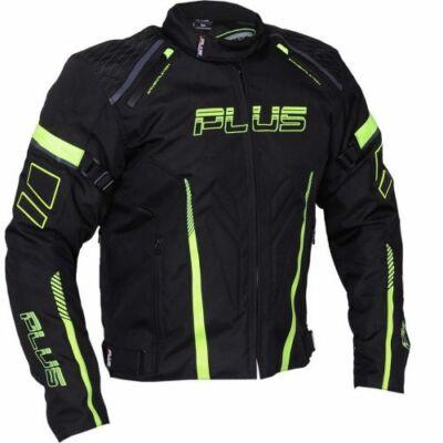 Plus Ray kabát fekete/neon 2XL