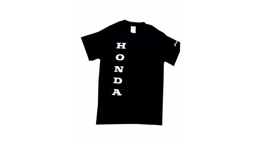 55a6e0628f Férfi Honda feliratos póló fekete S - Feliratos póló férfi