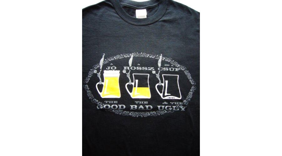 63241e4e6b Póló A jó A rossz S - Vicces póló