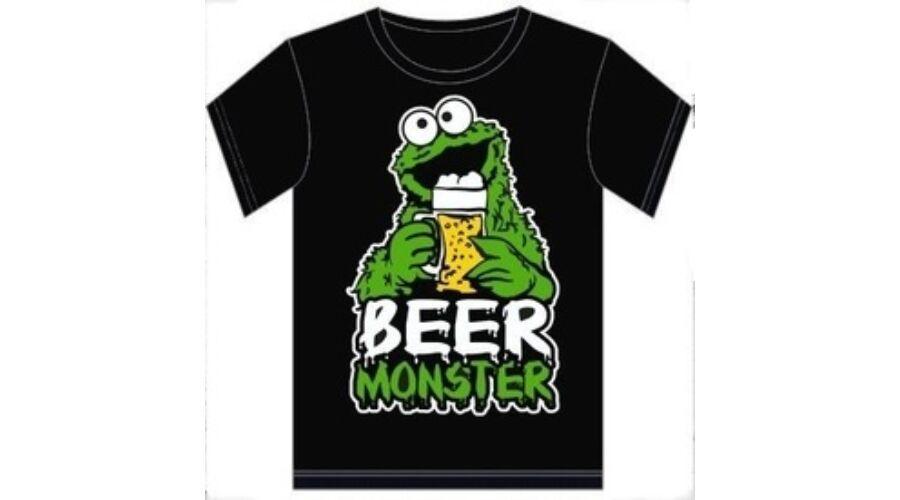 d4c8d7821f Póló Beer Monster XL - Vicces póló