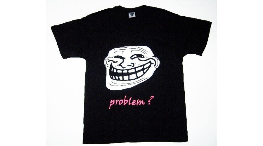 fae5c0829b Póló Troll problem L - Vicces póló